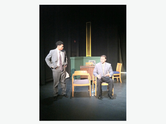 Back Back Back (Francis Marion University Theatre) with Kent (Chris Maldonado) and Raul (R. Blake Graham)