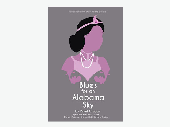 Blues for an Alabama Sky (Poster by Chase Kirby)